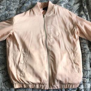 Forever 21 Blush Bomber Jacket